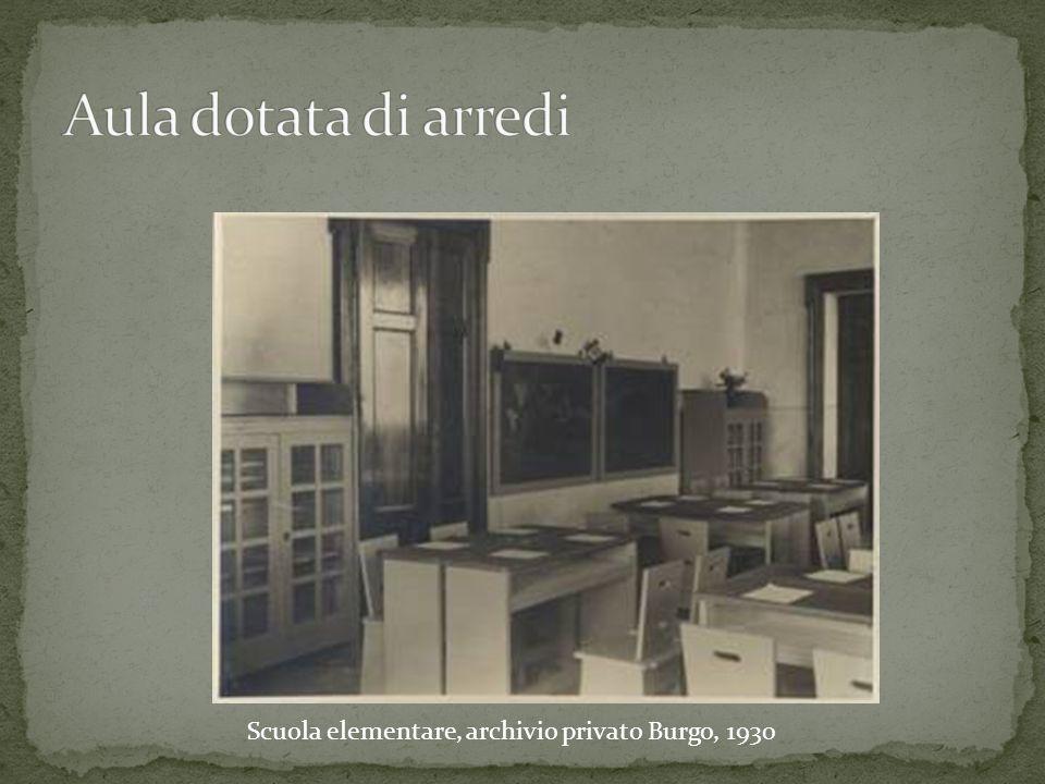 Scuola elementare, archivio privato Burgo, 1930