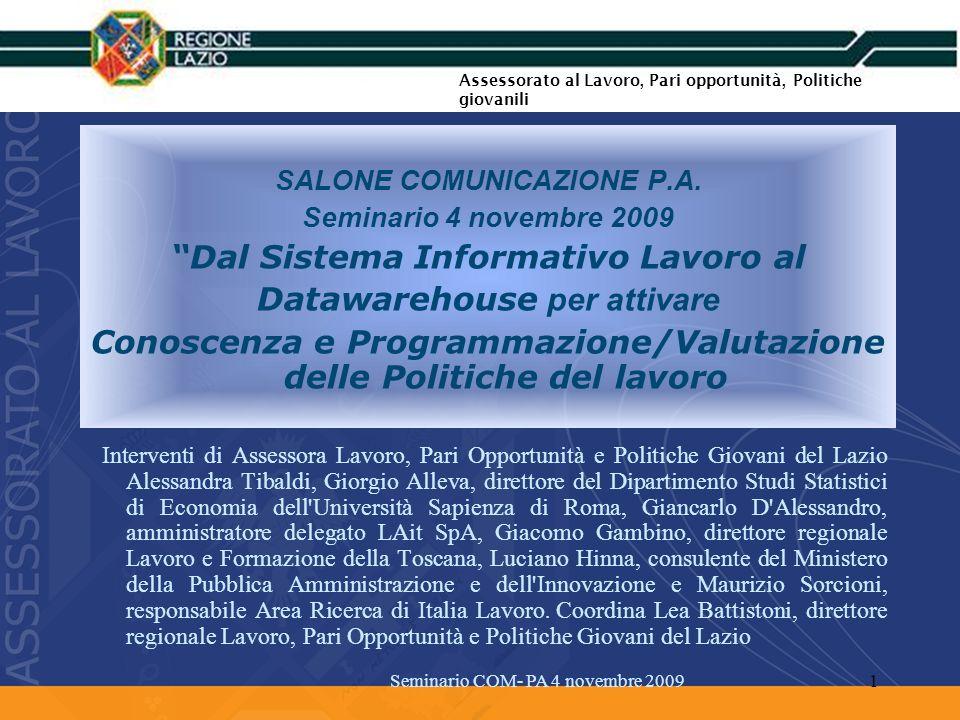 SALONE COMUNICAZIONE P.A.