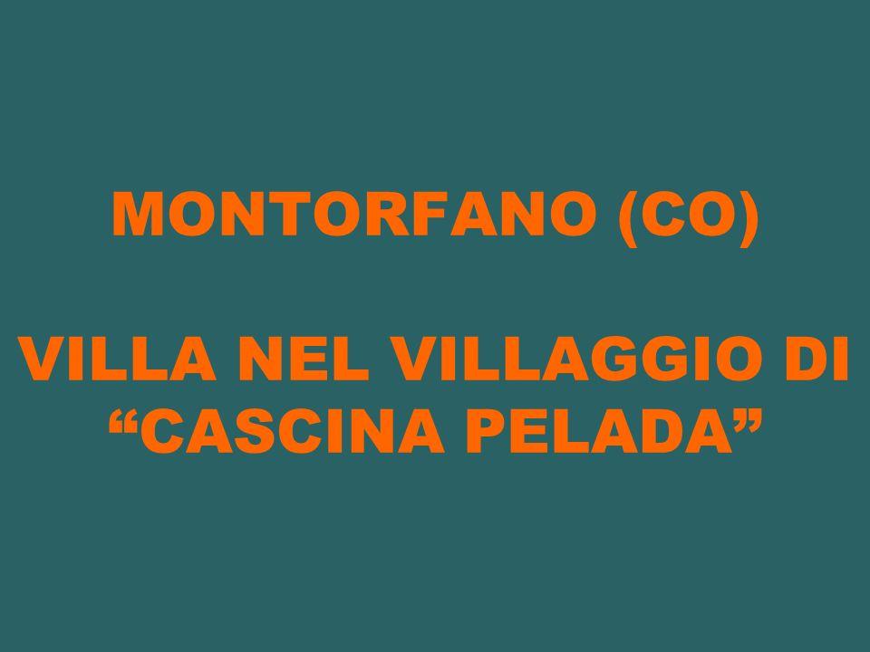 MONTORFANO (CO) VILLA NEL VILLAGGIO DI CASCINA PELADA