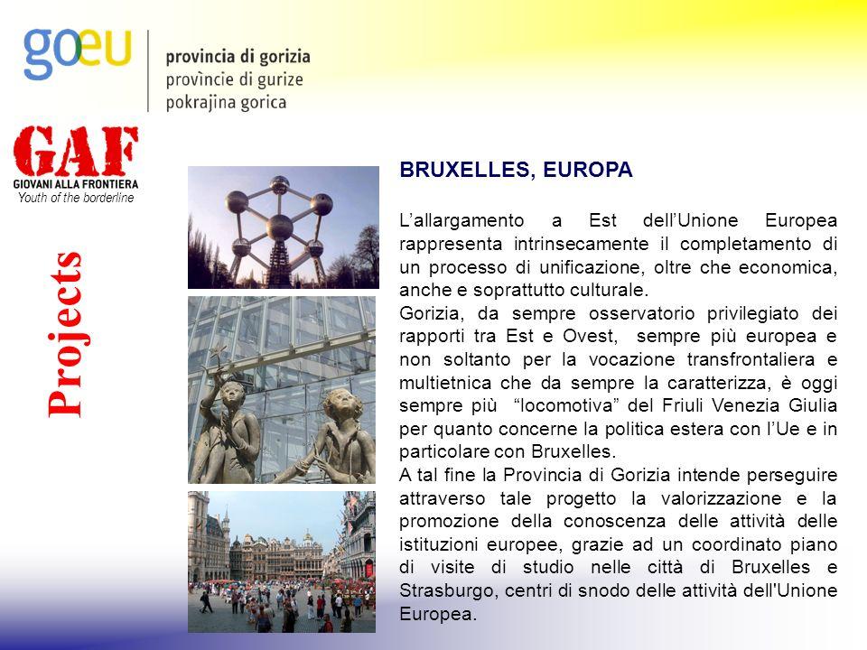 Youth of the borderline Projects BRUXELLES, EUROPA Lallargamento a Est dellUnione Europea rappresenta intrinsecamente il completamento di un processo