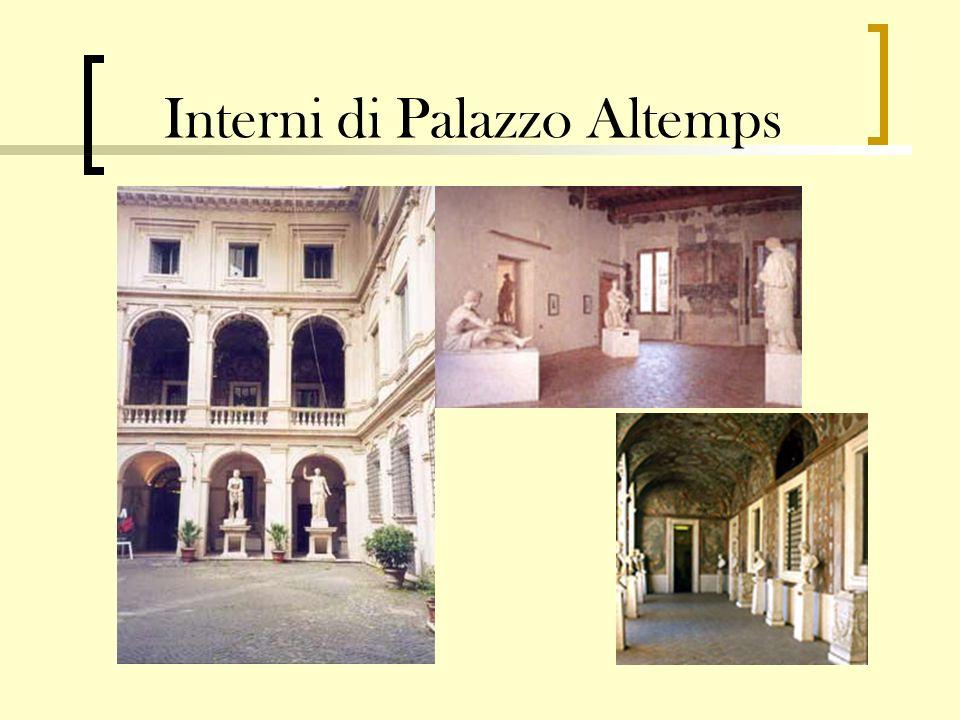 Interni di Palazzo Altemps