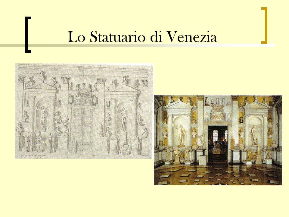 Lo Statuario di Venezia