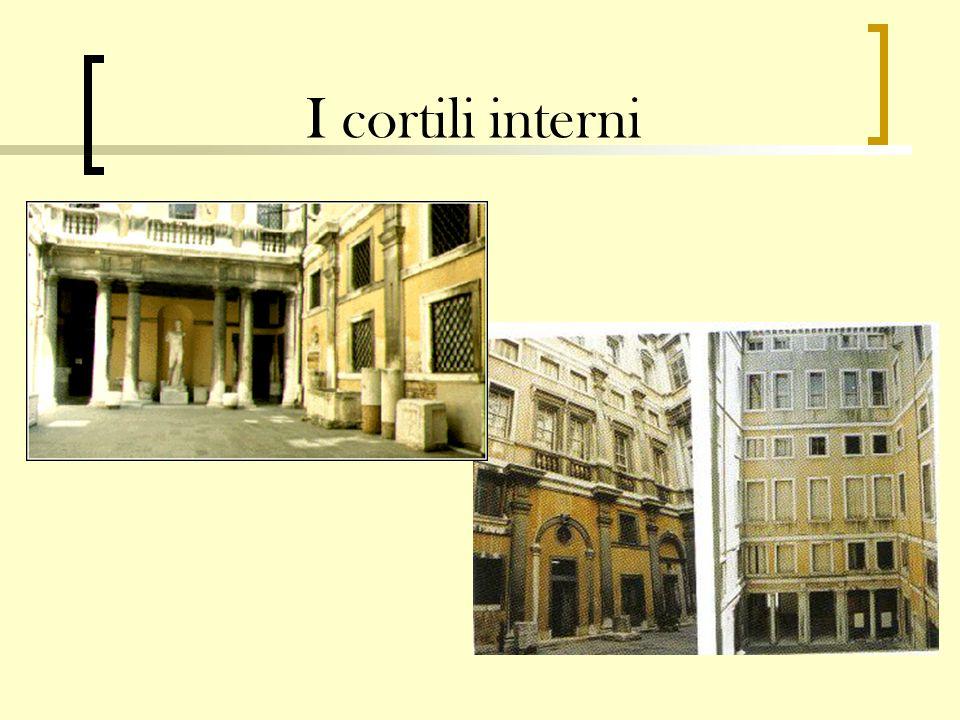 I cortili interni