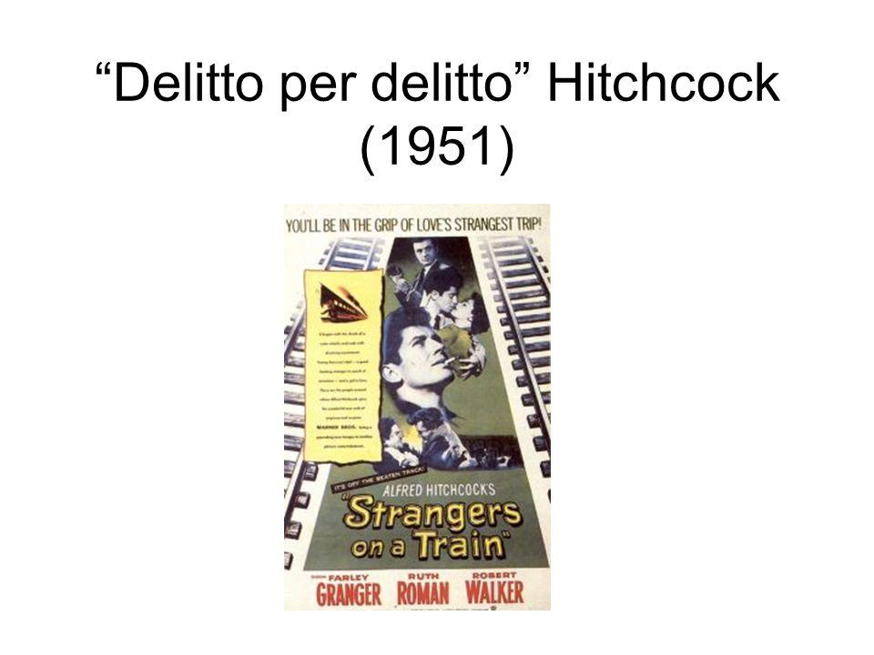 Delitto per delitto Hitchcock (1951)