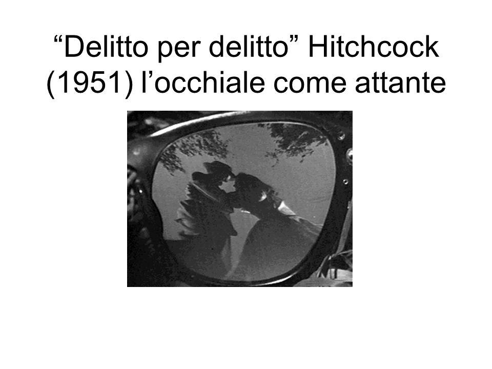 Delitto per delitto Hitchcock (1951) locchiale come attante