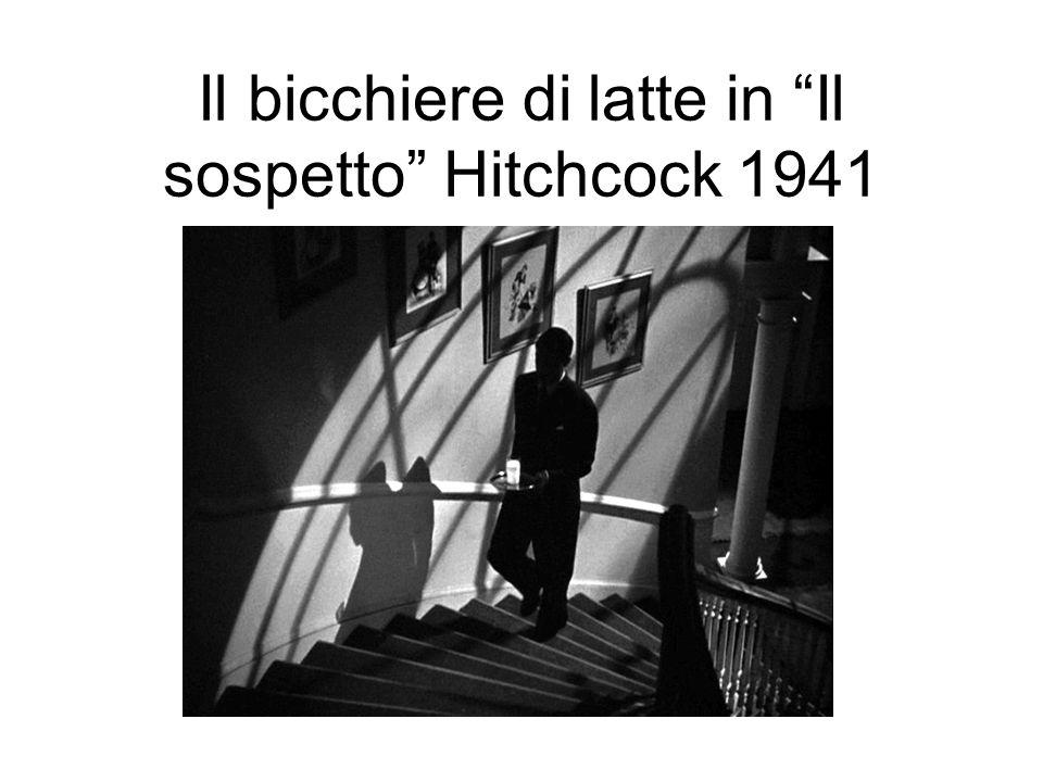 Il bicchiere di latte in Il sospetto Hitchcock 1941