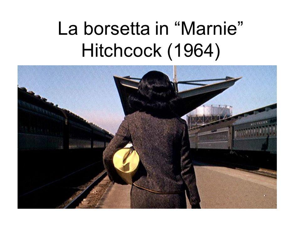 La borsetta in Marnie Hitchcock (1964)
