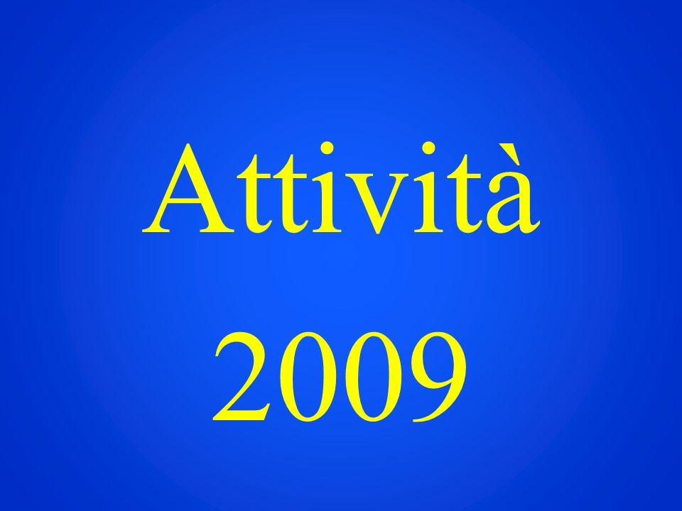 Attività svolte nel 2009 - Costruzione del circolo - Unisf - Convegno -Locali della Decrescita/ cene di pesce -Decrescita in medicina -Video/Comunicazione -Gruppo di Acquisto Solidale (GAS) -Ecovillaggio in montagna
