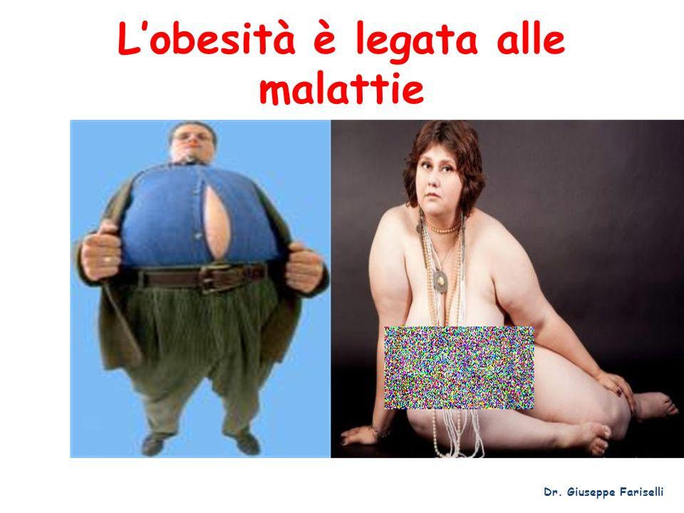 Lobesità è legata alle malattie Dr. Giuseppe Fariselli