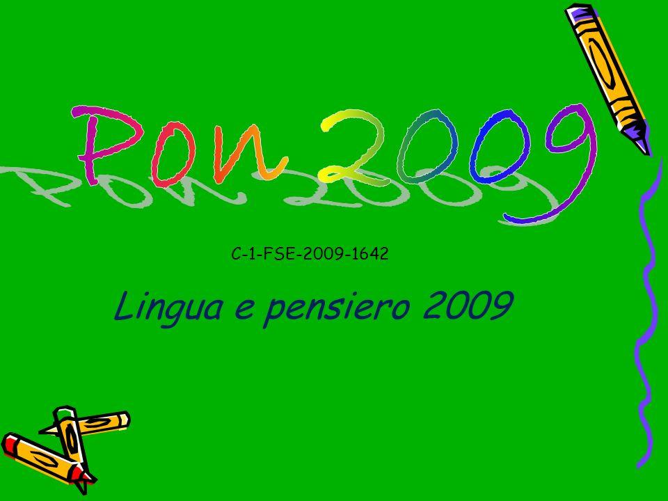 C-1-FSE-2009-1642 Lingua e pensiero 2009