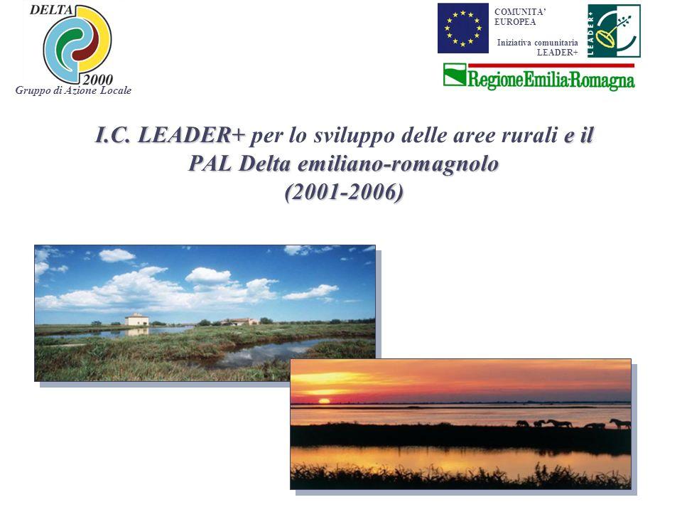I.C.LEADER+ e il PAL Delta emiliano-romagnolo (2001-2006) I.C.