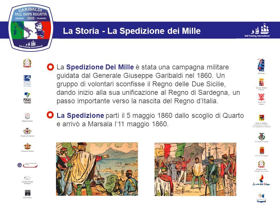 L'evento La Storia - La Spedizione dei Mille La Spedizione Dei Mille è stata una campagna militare guidata dal Generale Giuseppe Garibaldi nel 1860. U