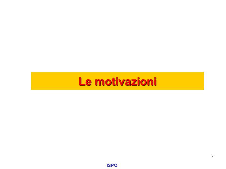 Le motivazioni ISPO 7