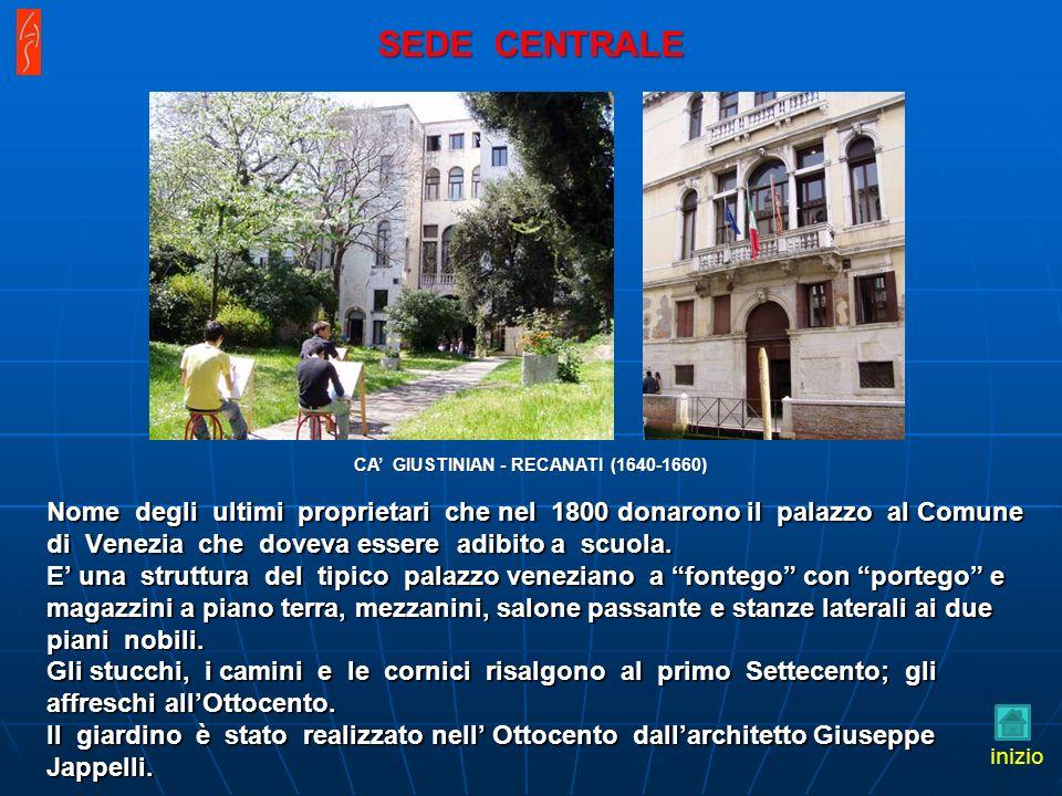 Nome degli ultimi proprietari che nel 1800 donarono il palazzo al Comune di Venezia che doveva essere adibito a scuola.