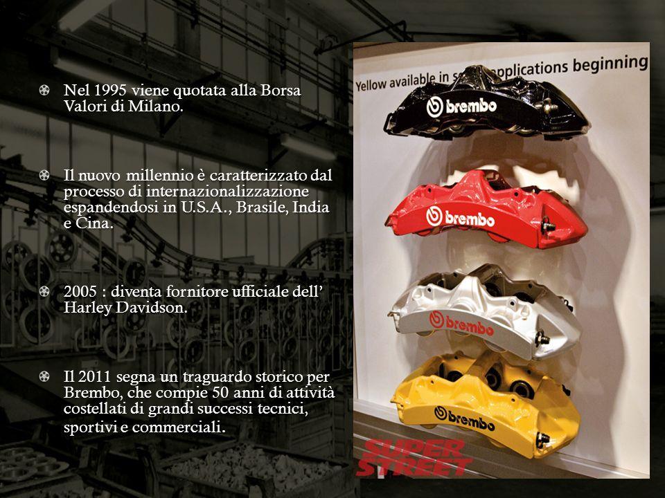 Nel 1995 viene quotata alla Borsa Valori di Milano. Il nuovo millennio è caratterizzato dal processo di internazionalizzazione espandendosi in U.S.A.,