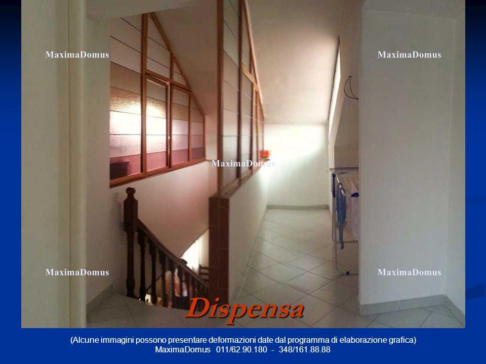 (Alcune immagini possono presentare deformazioni date dal programma di elaborazione grafica) MaximaDomus 011/62.90.180 - 348/161.88.88 Dispensa