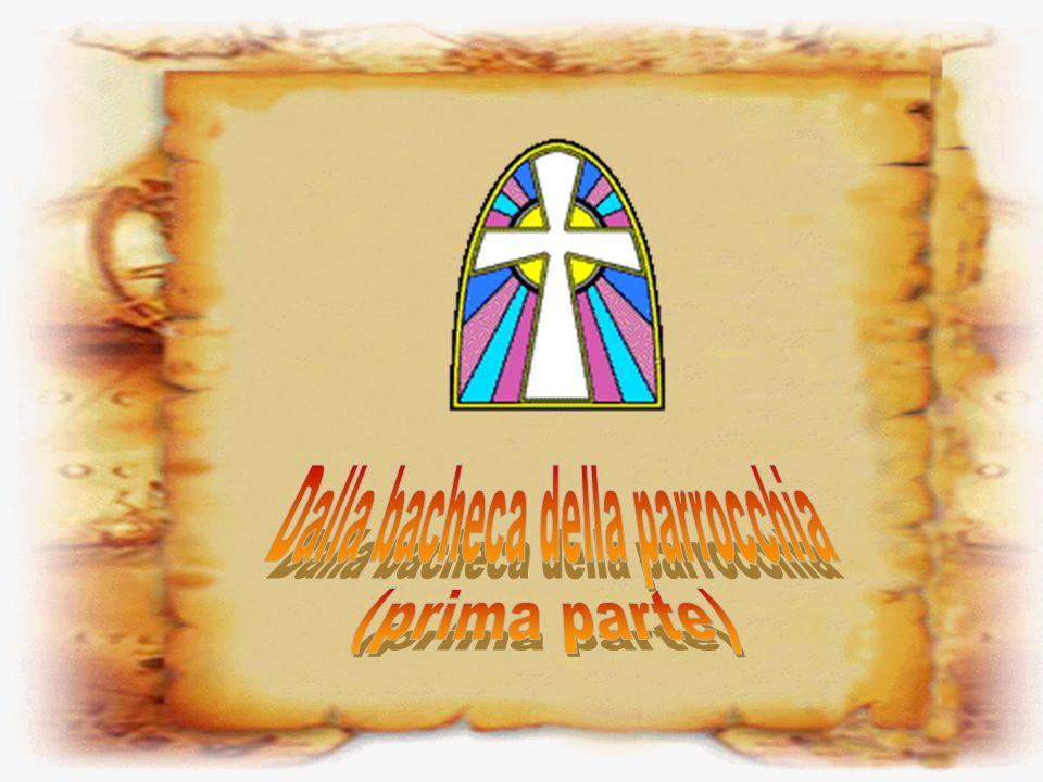 Tema della catechesi di oggi: Gesù cammina sulle acque Catechesi di domani: In cerca di Gesù