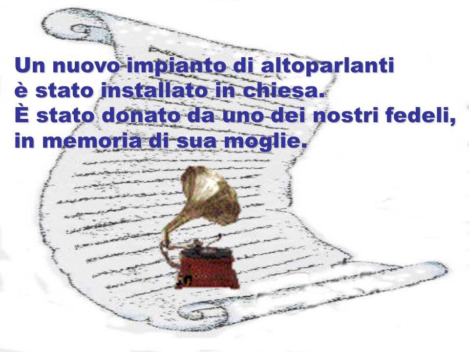 elaborazione: angelamagnoni@libero.it Testi tratti da Avvisi parrocchiali