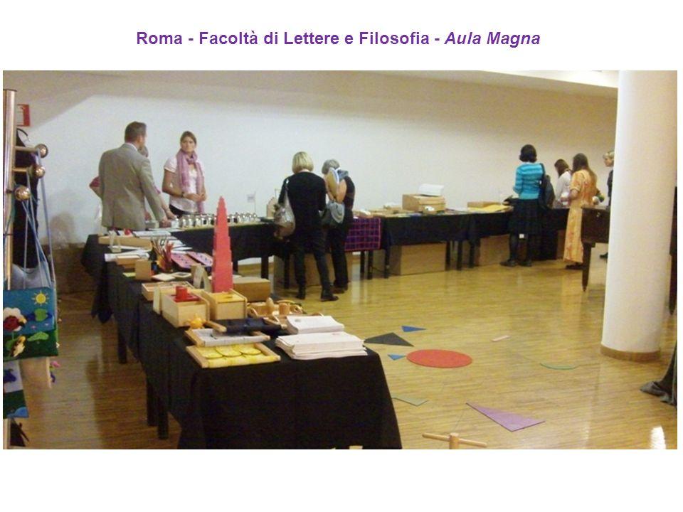 Roma - Facoltà di Lettere e Filosofia - Aula Magna