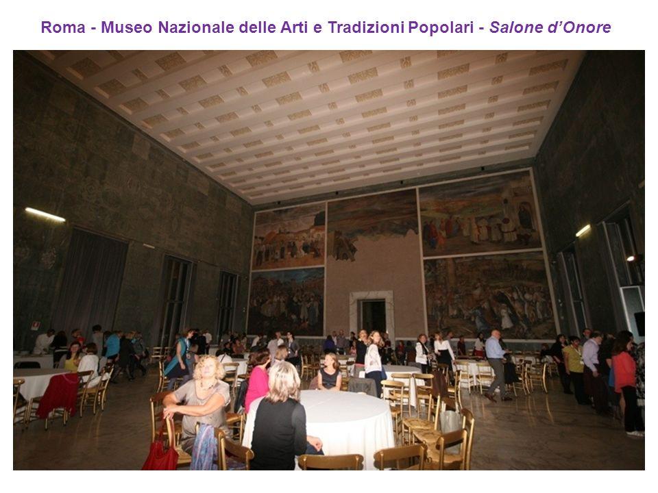 Roma - Museo Nazionale delle Arti e Tradizioni Popolari - Salone dOnore