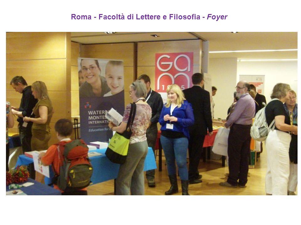 Roma - Facoltà di Lettere e Filosofia - Foyer