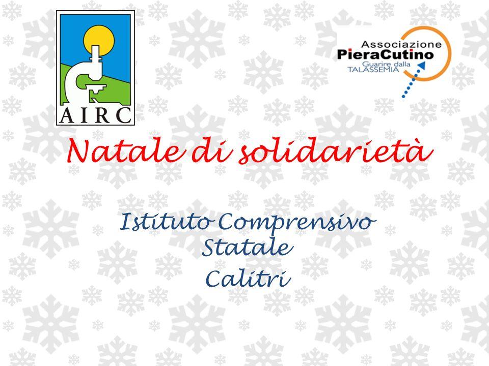 Natale di solidarietà Istituto Comprensivo Statale Calitri