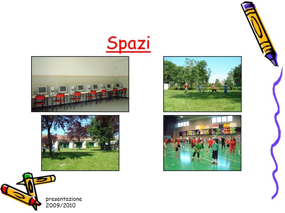 presentazione 2009/2010 Spazi