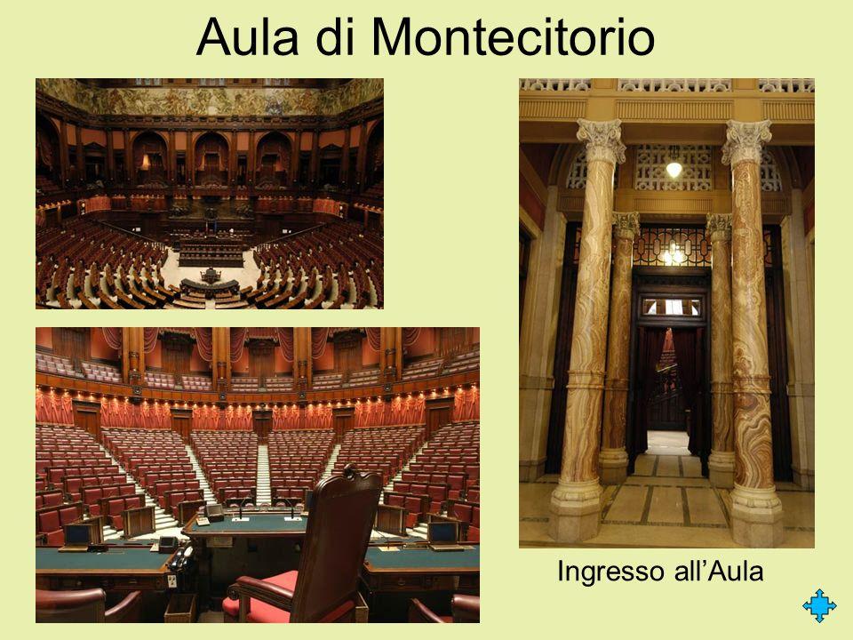Aula di Montecitorio Ingresso allAula