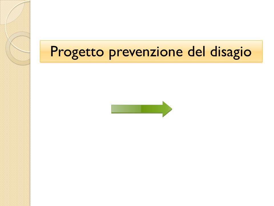 Progetto prevenzione del disagio