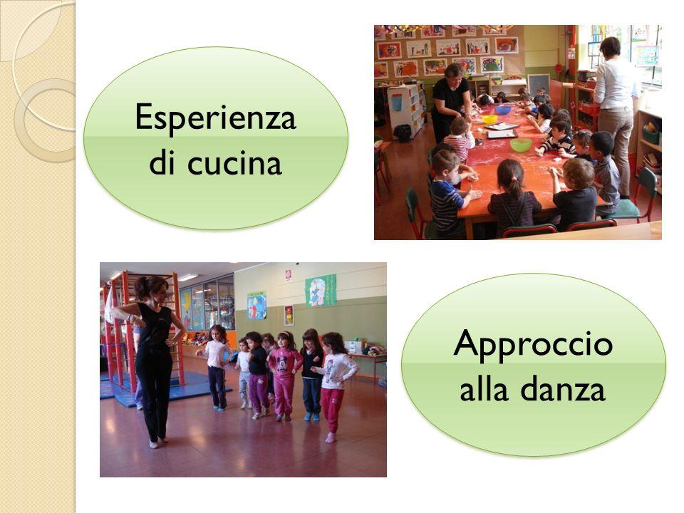 Esperienza di cucina Approccio alla danza Approccio alla danza
