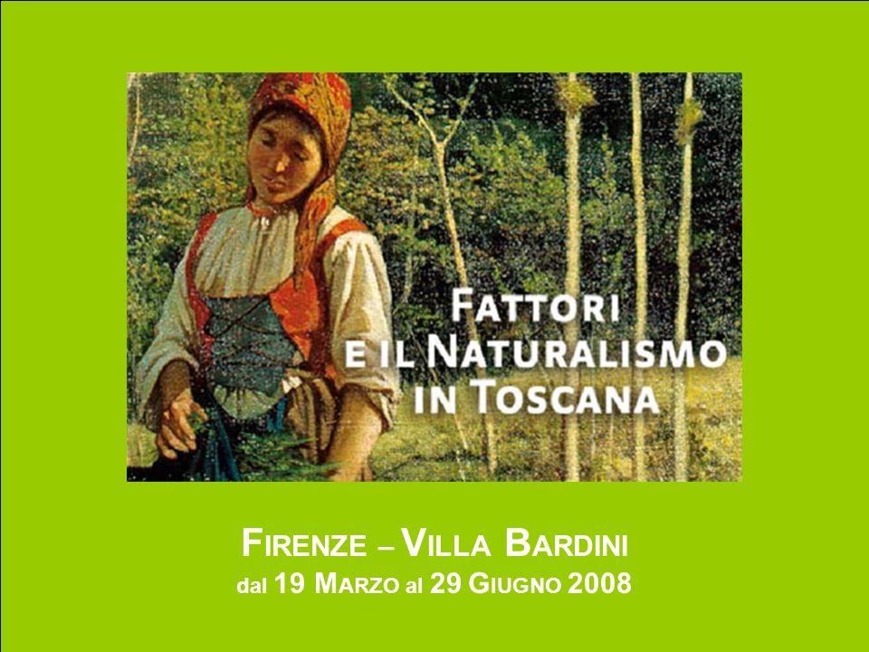 FATTORI E IL NATURALISMO IN TOSCANA (altri autori) RAFFAELLO SORBI Cacciatore lungo le rive dellArno (1872) olio su tavola, cm 16,5 x 14,5