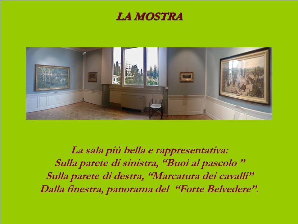 LA MOSTRA Un candido corridoio ci introduce alle sale espositive.