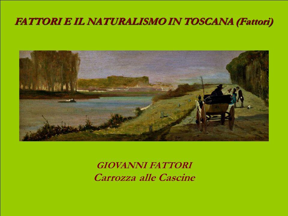 FATTORI E IL NATURALISMO IN TOSCANA (Fattori) GIOVANNI FATTORI Soldati su strada di campagna olio su tavola, cm 20,3 x 41,5
