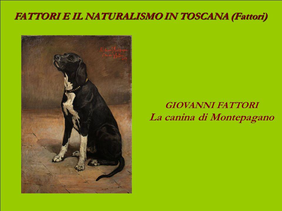 FATTORI E IL NATURALISMO IN TOSCANA (Fattori) GIOVANNI FATTORI Carrozza alle Cascine