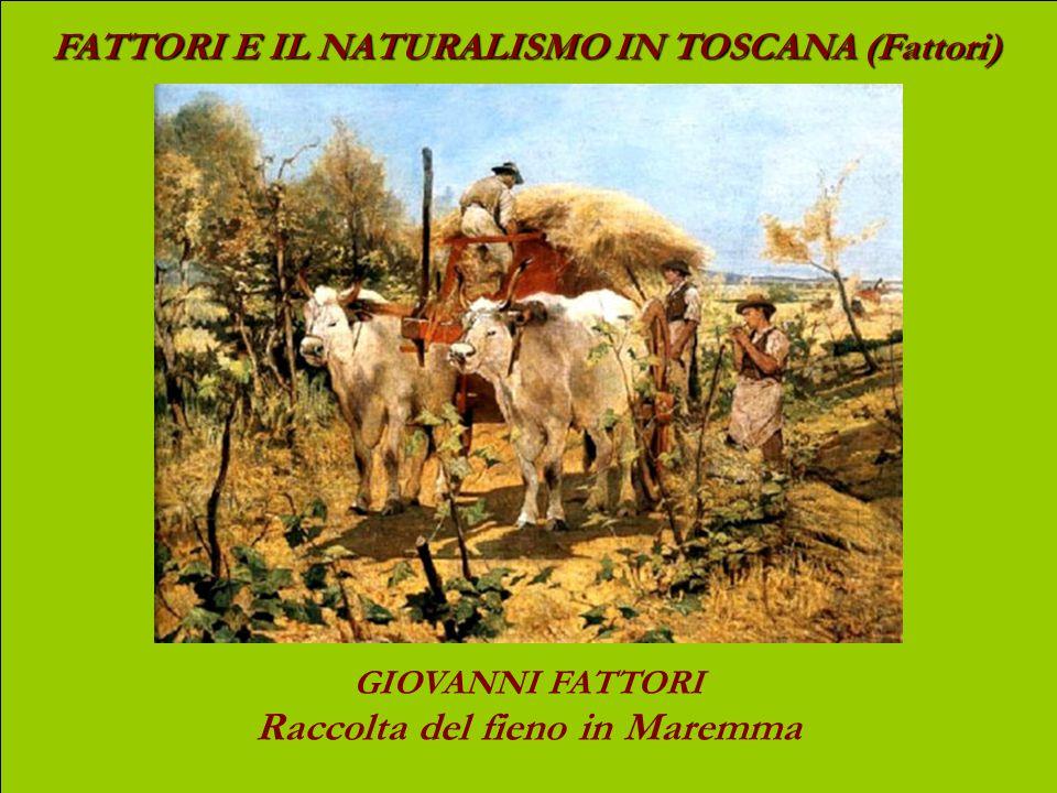 FATTORI E IL NATURALISMO IN TOSCANA (Fattori) GIOVANNI FATTORI Contadina nel bosco (costume toscano)