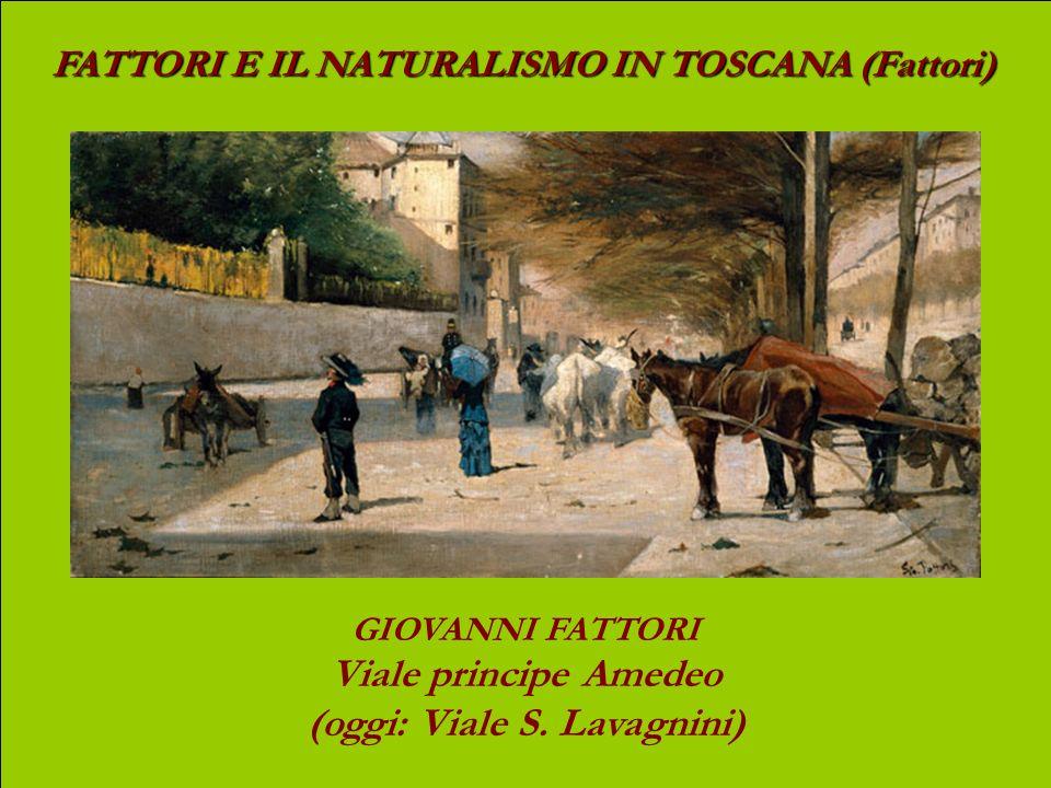 FATTORI E IL NATURALISMO IN TOSCANA (Fattori) GIOVANNI FATTORI Tombolo. Cavalli in fuga.