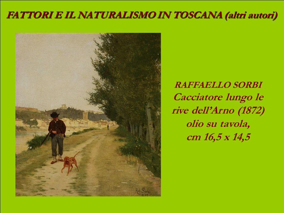FATTORI E IL NATURALISMO IN TOSCANA (altri autori) ADOLFO TOMMASI Idillio (1884) olio su tela, cm 58 x 98,8