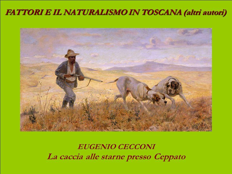 FATTORI E IL NATURALISMO IN TOSCANA (altri autori) FRANCESCO GIOLI Acquaiola (1891) olio su tela, cm 147 x 75,2