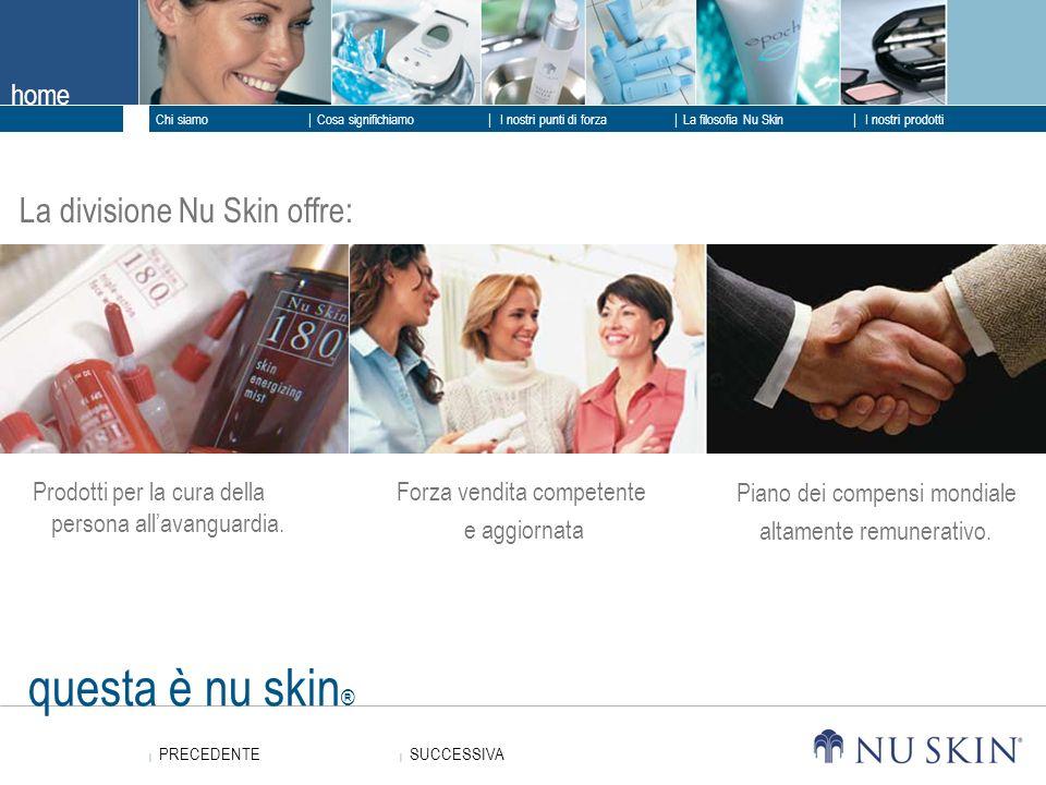 questa è Nu Skin ® Risultati straordinaripure & simple.