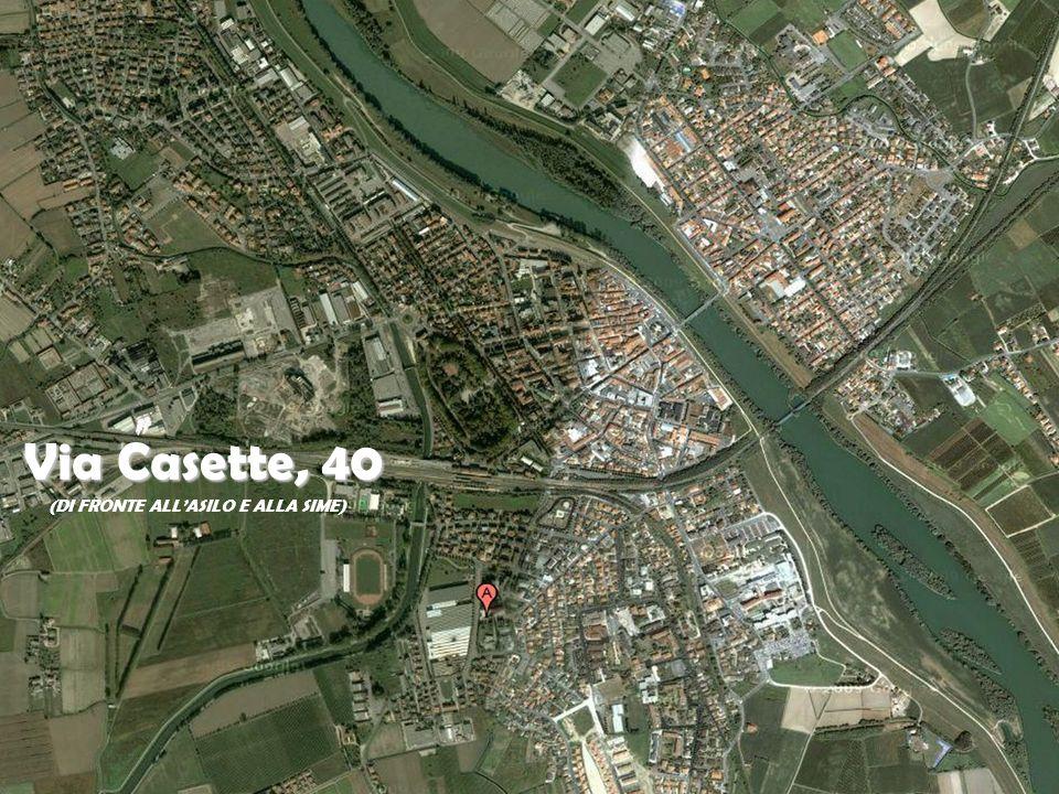 Via Casette, 40 (DI FRONTE ALLASILO E ALLA SIME)