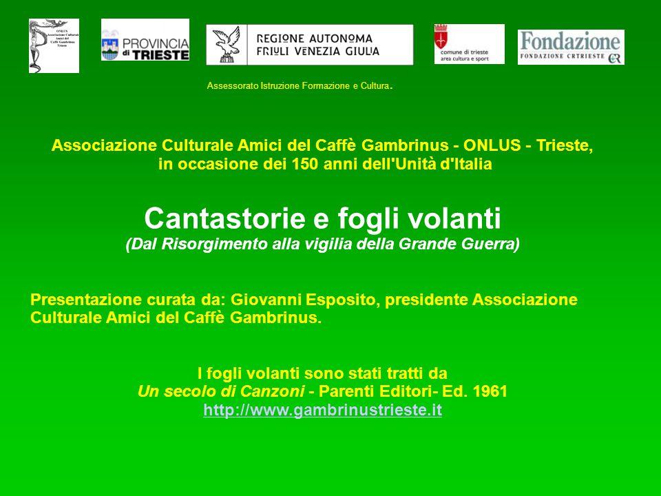 XX settembre - Inno Marcia - Il 27 marzo 1861, la Camera proclamava Roma capitale dItalia.