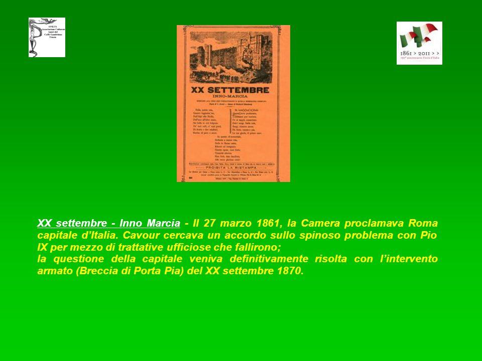 Il sogno di Garibaldi - Lautore è Francesco Dall'Ongaro (1808 - 1873) poeta, drammaturgo e librettista italiano. Ordinato sacerdote, svestì l'abito ta