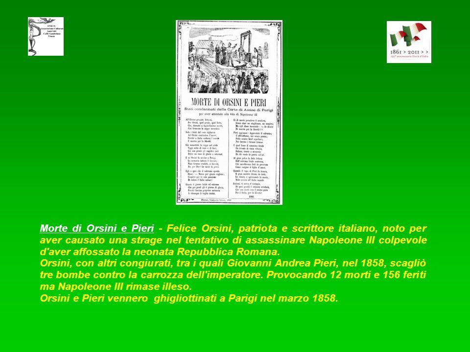 Commemorazion di cinq giornaad - Il 18 marzo 1848 Milano insorgeva contro gli austriaci cacciandoli dalla città. Fu uno dei maggiori episodi della sto