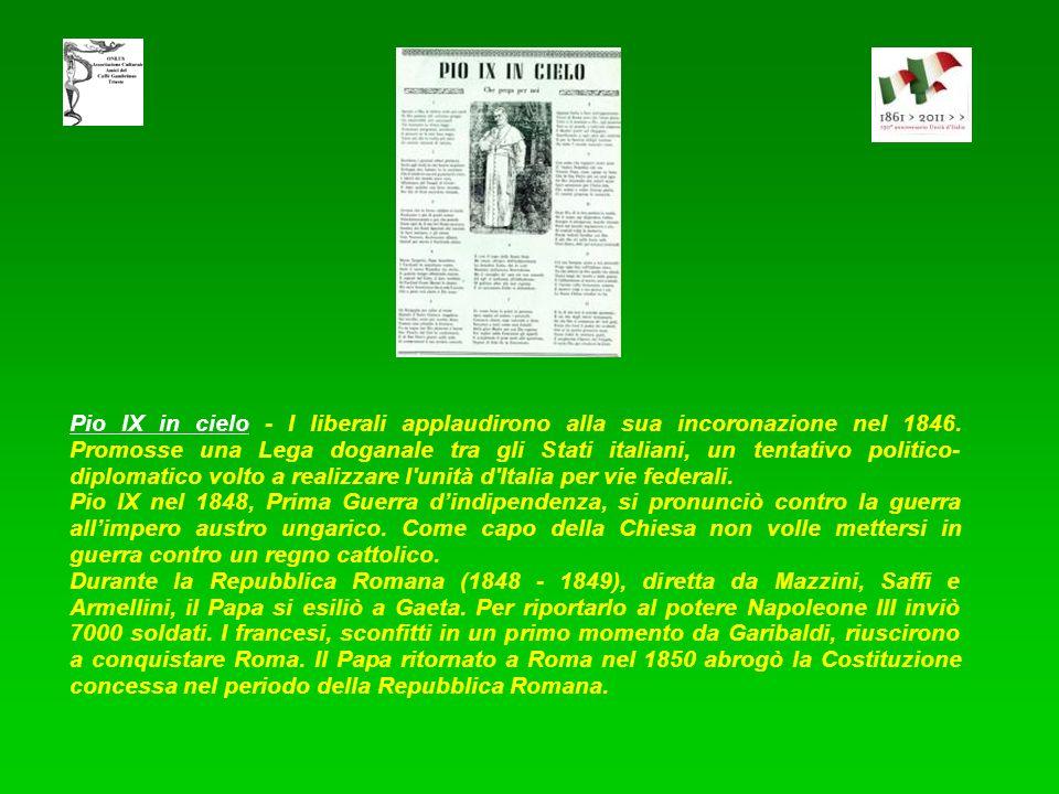 Vittorio Emanuele II - Il Padre della Patria: i napoletani, lo chiamarono Lu Re Curazzone, cioè Re simpatico. In questa canzone è descritto un fenomen