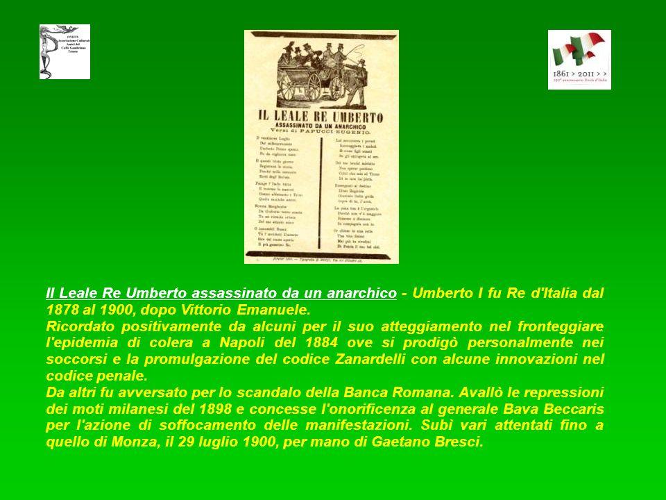 In morte di Leone XIII - Leone XIII, successore di Papa Pio IX, è stato il primo Pontefice senza il potere temporale. Scrisse molte encicliche con lo