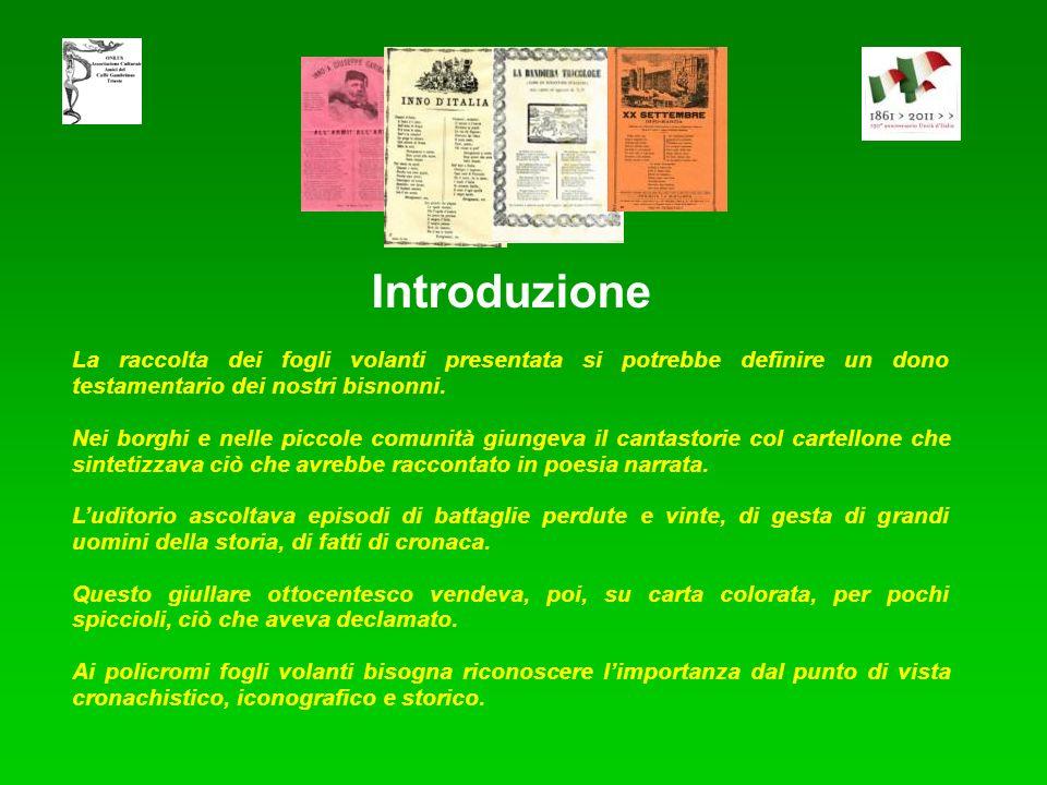Assessorato Istruzione Formazione e Cultura. Associazione Culturale Amici del Caffè Gambrinus - ONLUS - Trieste, in occasione dei 150 anni dell'Unità