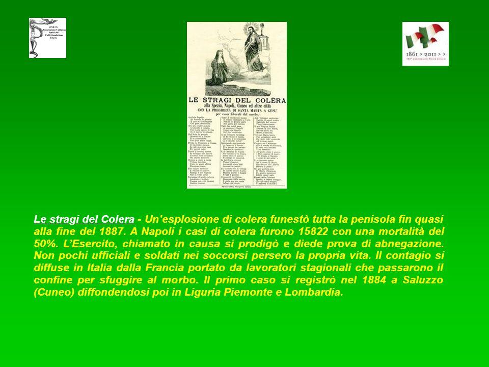 Disastro ferroviario di Signa avvenuto la mattina del 15 aprile 1909 - Nella occasione si costituì unassociazione, tuttora operante, di cittadini che
