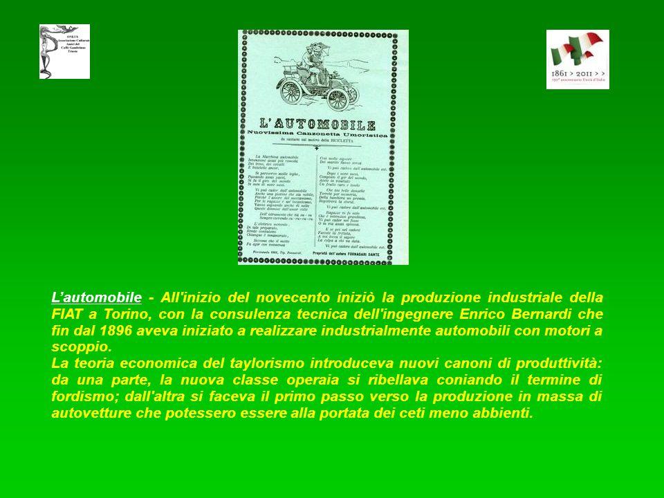 Luomo che vola mediante laeroplano - Il primo aereo italiano fu costruito da Aristide Faccioli nel 1908. Inizialmente l'aereo fu considerato una sempl