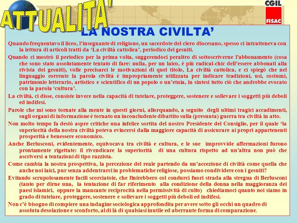 In occasione del 60° anniversario del 25 Aprile Festa della Liberazione dellItalia dal nazifascismo, la FISAC-CGIL AVELLINO unitamente alla SEGRETERIA REGIONALE CAMPANIA e al DIPARTIMENTO INTERNAZIONALE FISAC CGIL, in collaborazione con il Comune di SAVIGNANO IRPINO e con il benestare della ASSOCIAZIONE NAZIONALE DIVISIONE ACQUI, organizza: CEFALONIA VIAGGIO – MEMORIA (1 – 7 settembre 2005) Dal grande balcone della casa nativa in Savignano, dove si era recato in convalescenza, padre Romualdo Formato rivedeva per lultima volta i colli e le montagne dellIrpinia e il vento che sempre passa impetuoso su quella terra generosa.