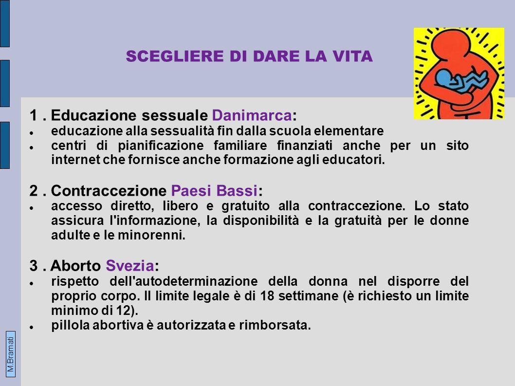 SCEGLIERE DI DARE LA VITA 1.